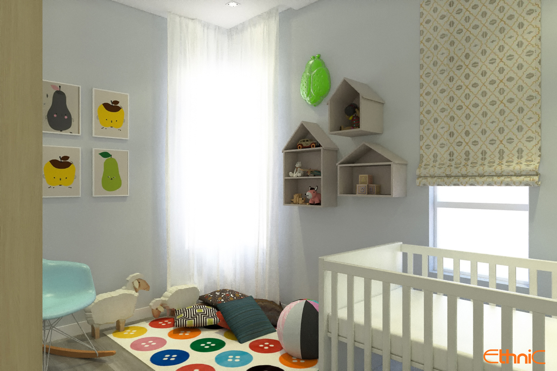 Children Room Batu Ferringhi Interior Design Penang Ethnic
