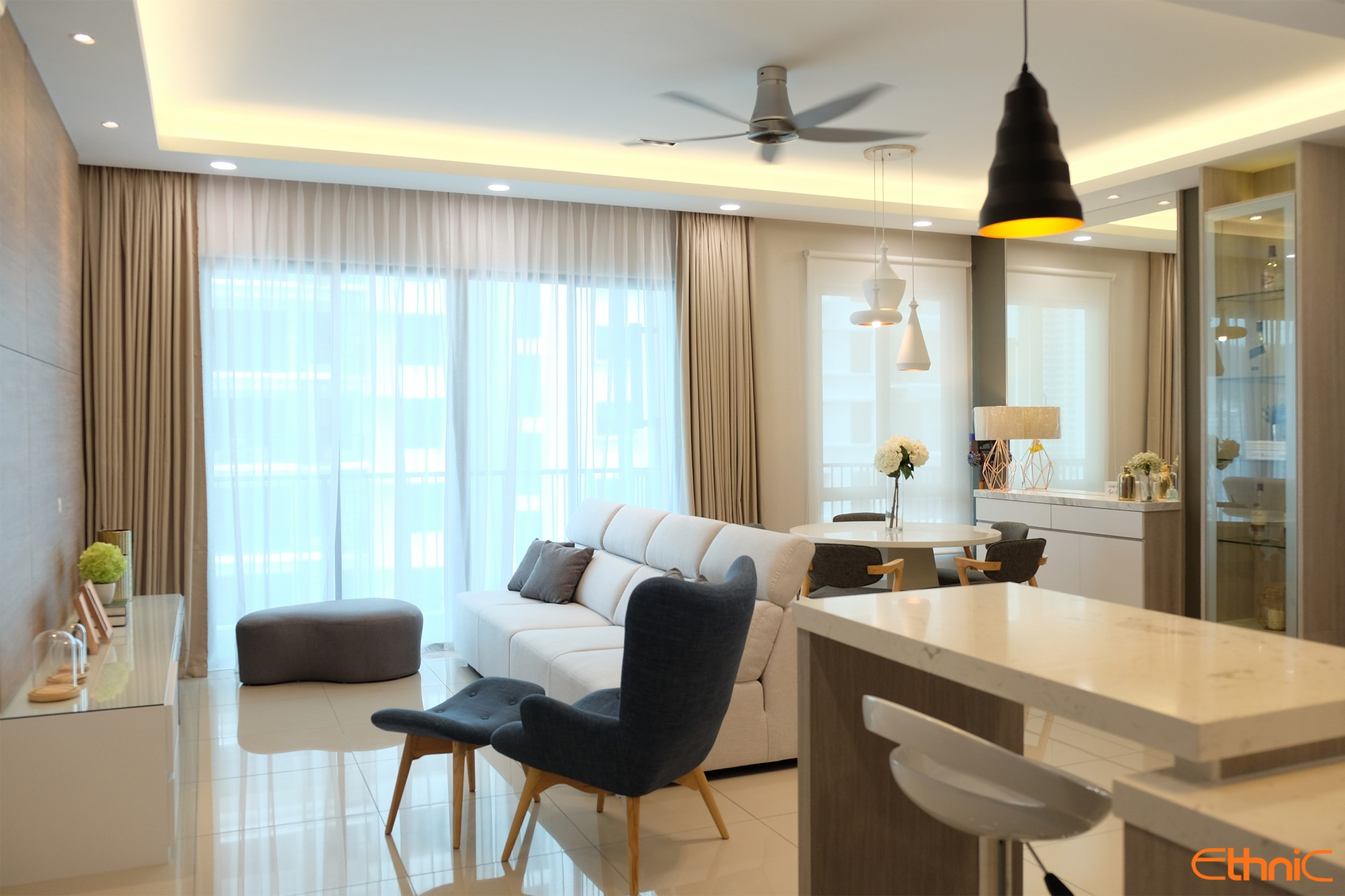 Penang Tree Sparina Interior Design Renovation
