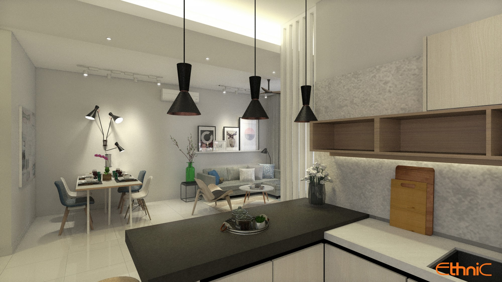 Penang Interior Design Renovation Build Ethnic ID