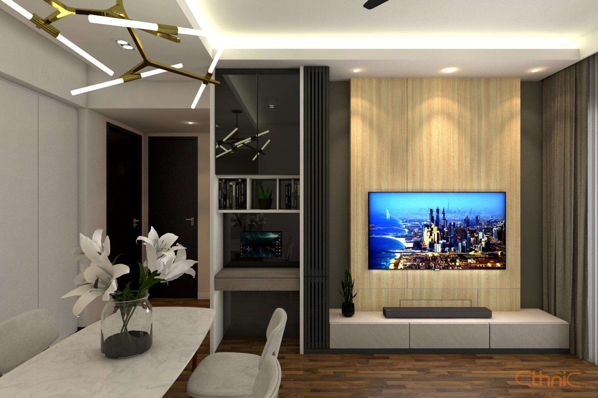 Tamarind Condo Interior Design Penang